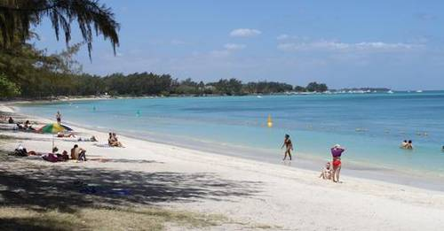Beach Mont Choisy